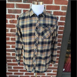O'NEILL  LONG SLEEVE BUTTON DOWN FLANNEL SHIRT EUC